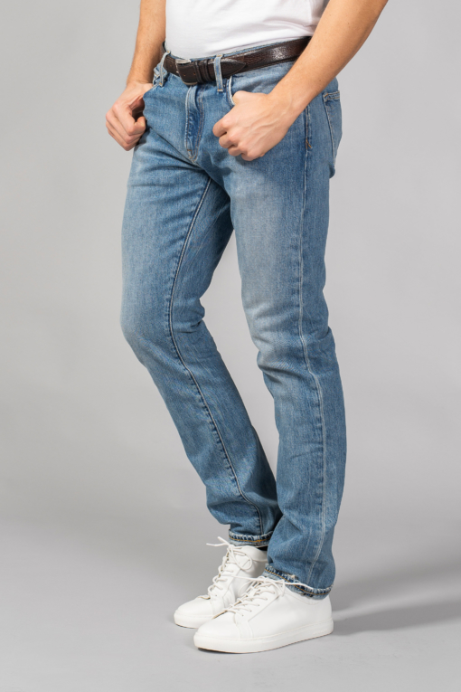 denim jeans p-51 athletic tapered denim slim ace rivington candiani denim store