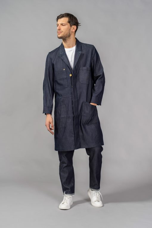 denim jeans the luigi coat regular atelier & repairs candiani denim store