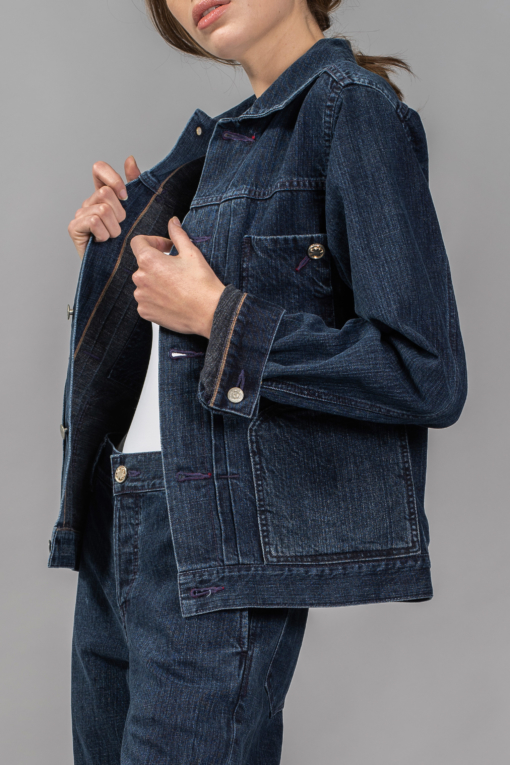denim jeans utility type2 jacket regular bespoke denim candiani denim store