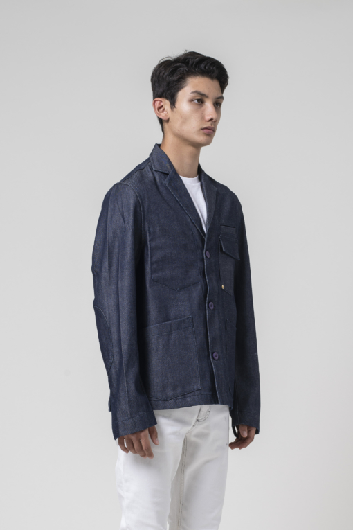 denim jeans The Alberto Blazer regular Atelier & Repairs candiani denim store