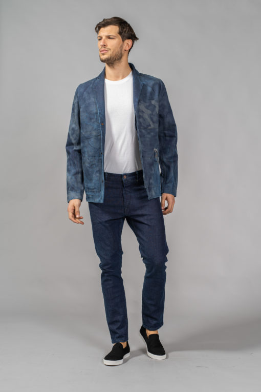 denim jeans chore coat 3 button blazer regular matias denim candiani denim store
