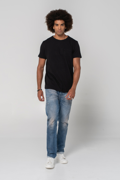 BT-01 Pocket Tee benzak denim developers candiani denim store