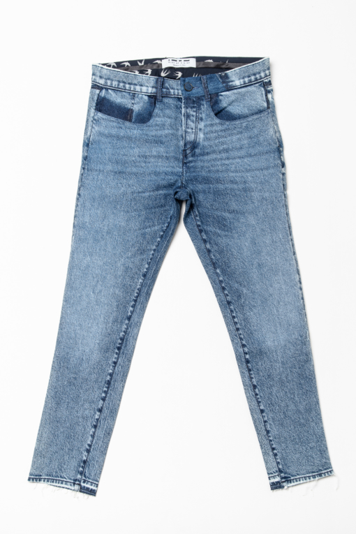 denim jeans apollo blue of a kind slim candiani denim store
