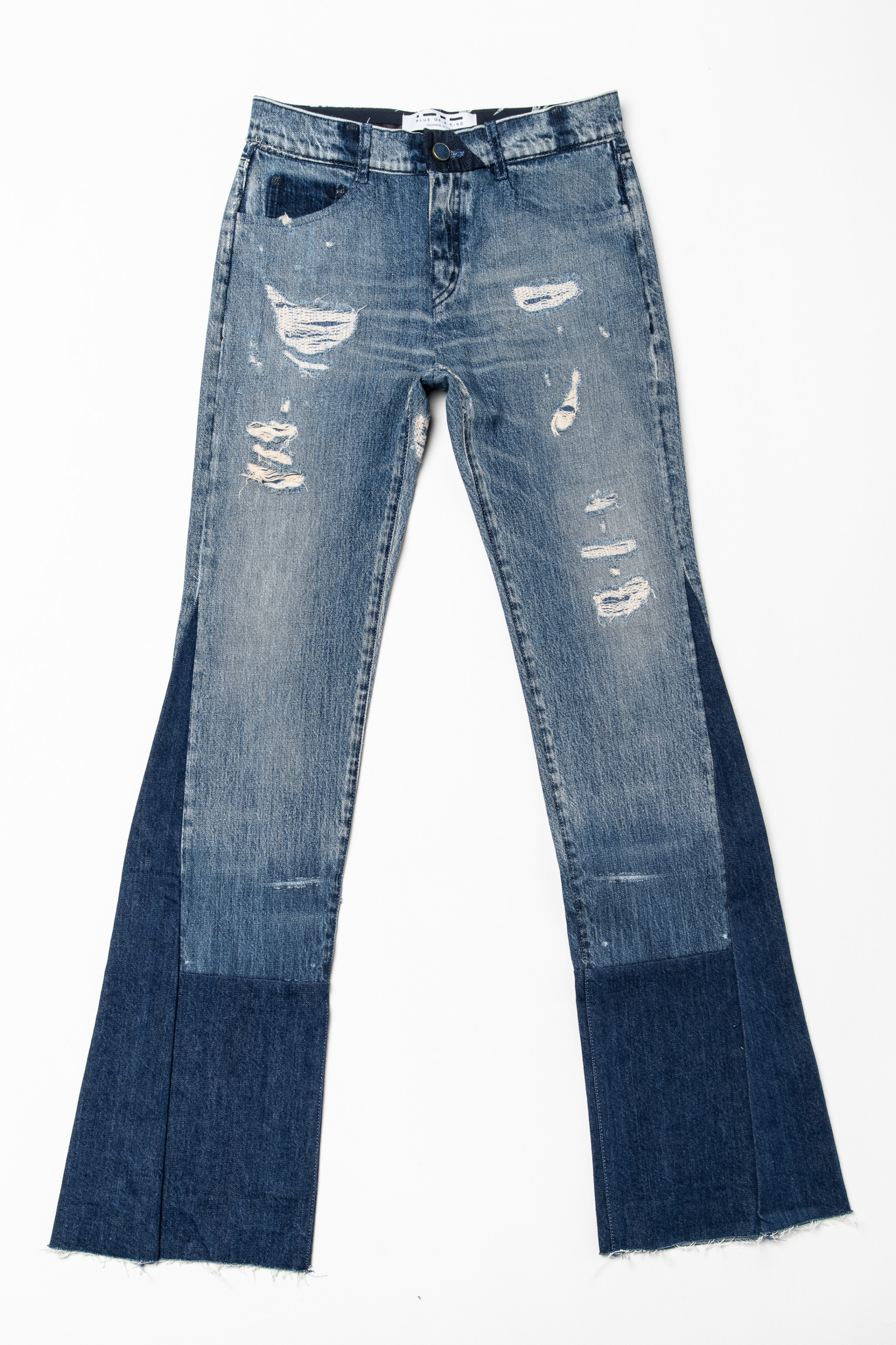 denim jeans berenice flair blue of a kind candiani denim store
