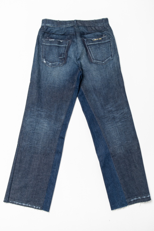 denim jeans dorotea flair blue of a kind candiani denim store