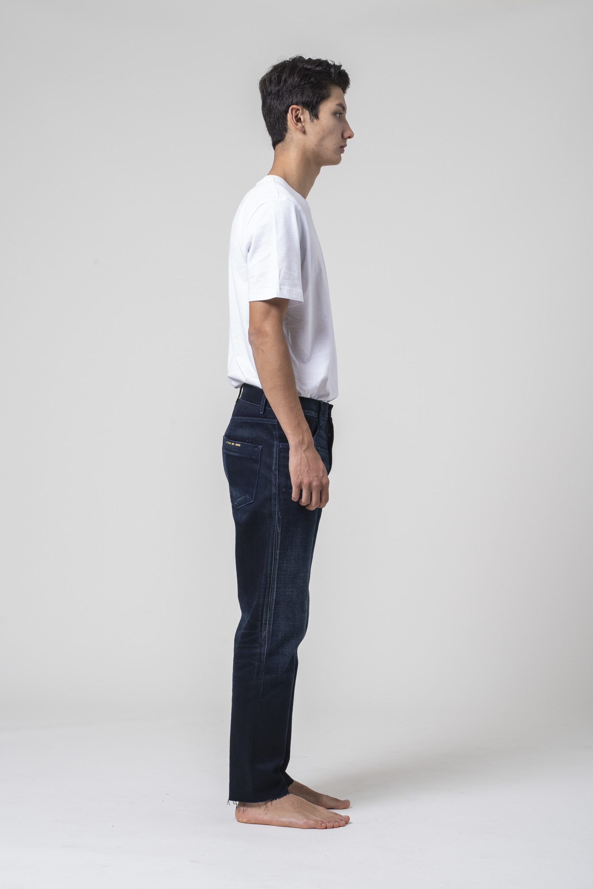 denim jeans Apollo Man Tapered Selvedge Blue blue of kind blue of a kind candiani denim store