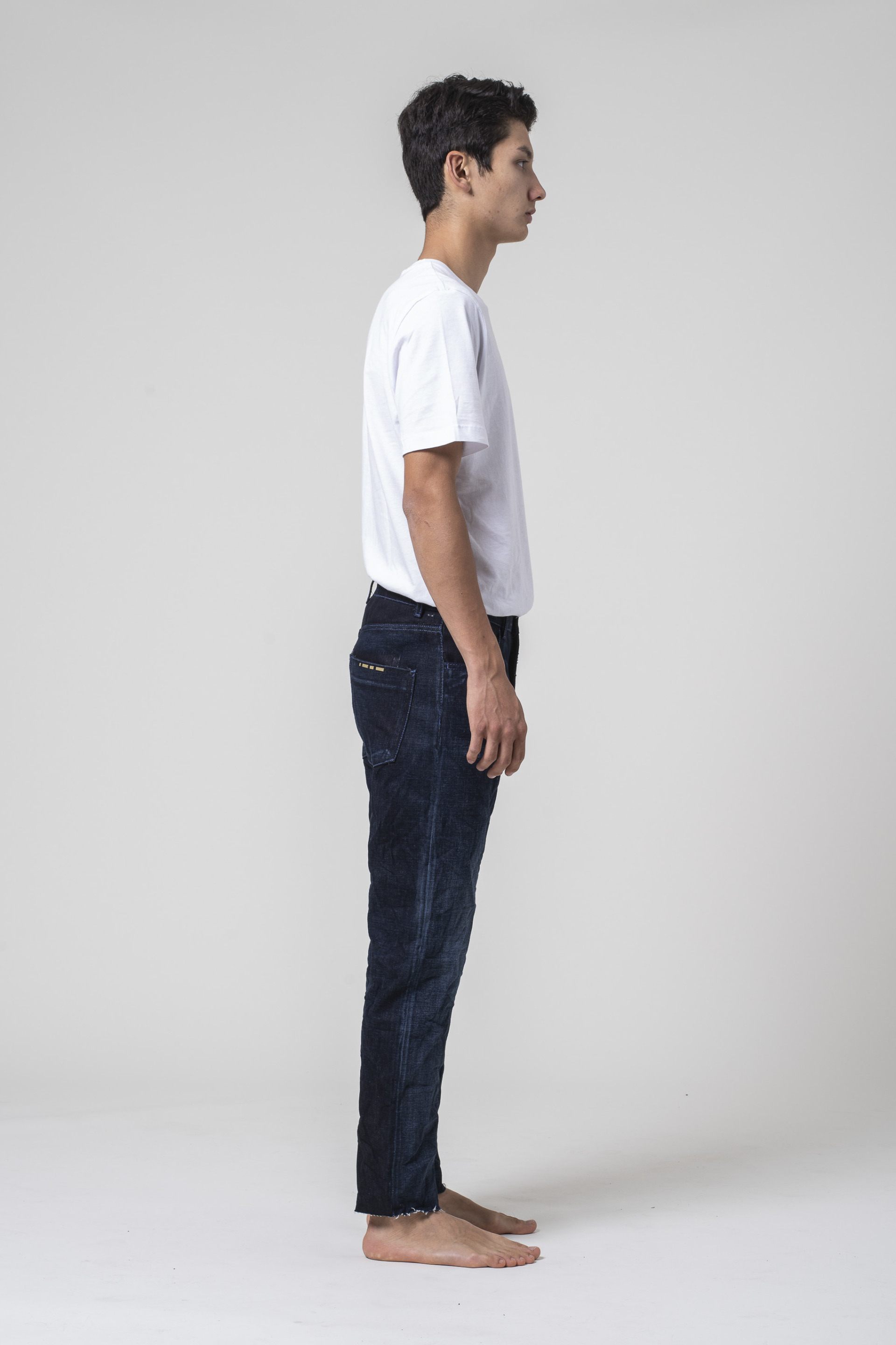 denim jeans Apollo Man Tapered Selvedge Blue blue of a kind candiani denim store