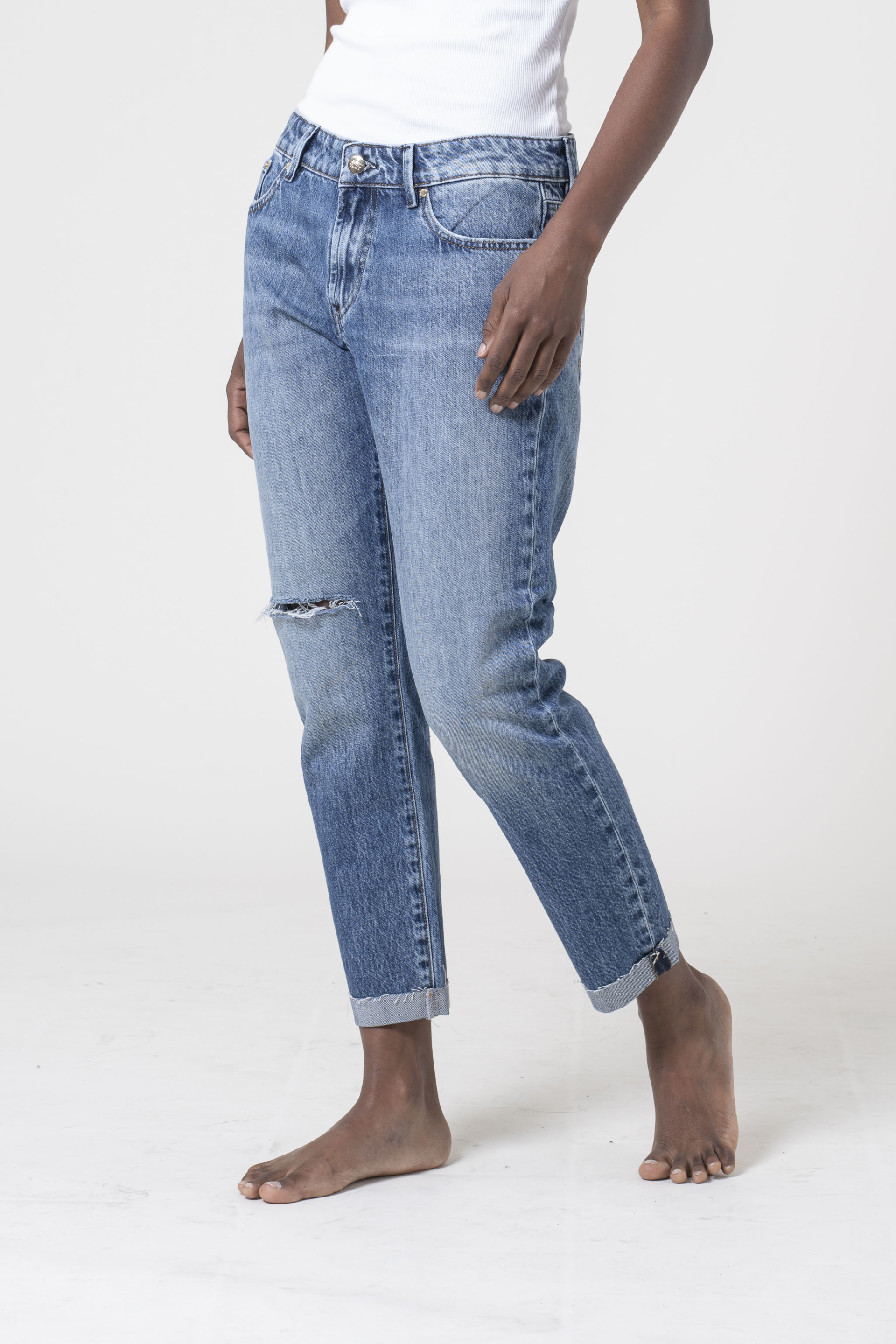 denim jeans Monroe GRCD regular Denham candiani denim store