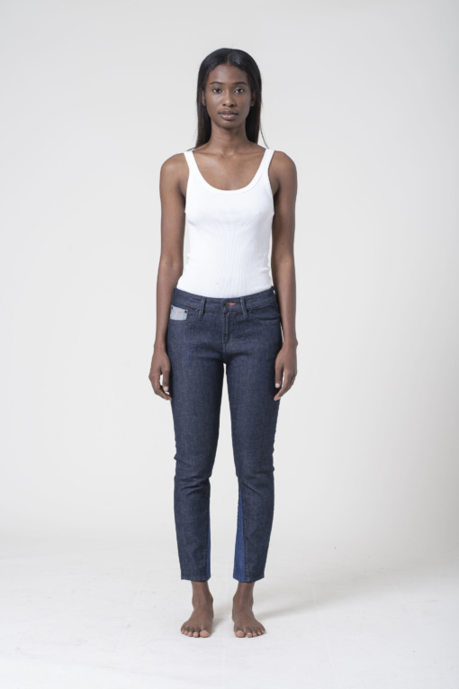 denim jeans LIZ ANKLE 90MIX JEAN regular Denham candiani denim store