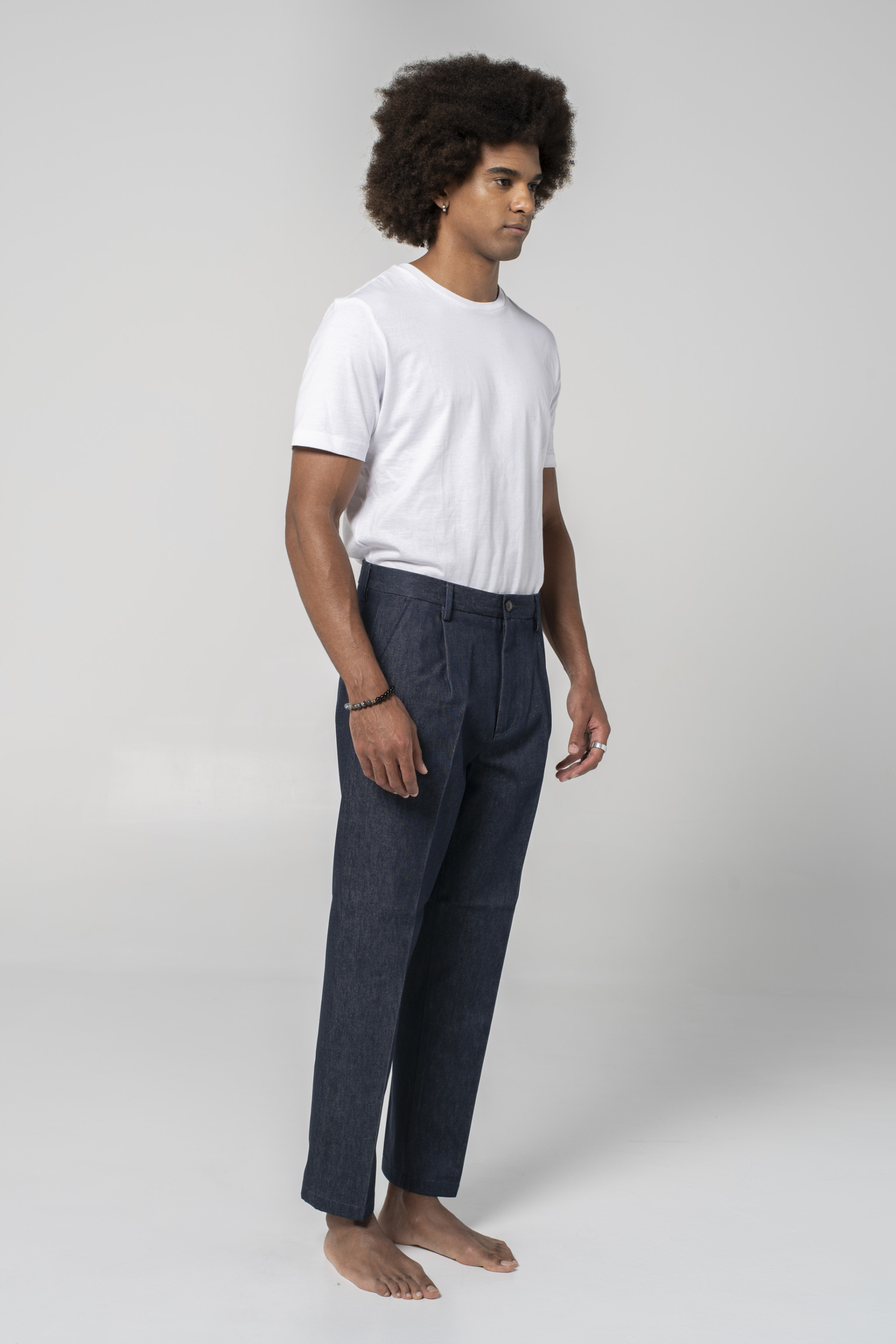 denim jeans Boston Relaxed Dark Blue relaxed closed candiani denim store